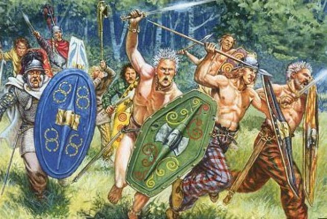 The Celts arrive in England