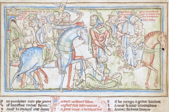 The vikings conquered England