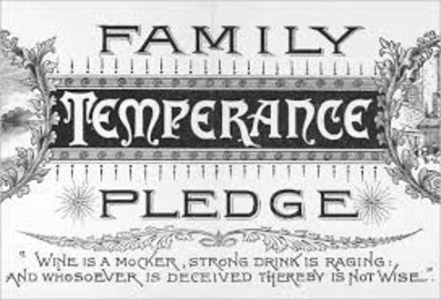 American Temperance Society Founded