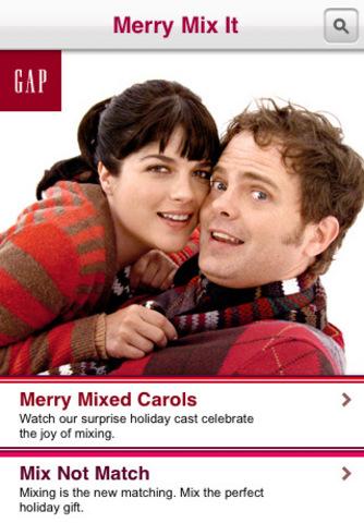 GAP: Merry Mix It
