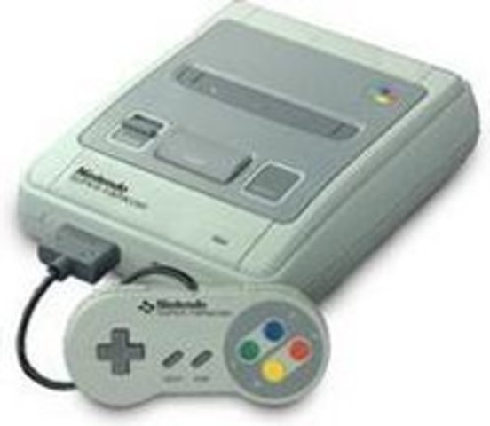 Super Nintendo Entertainment System (SNES