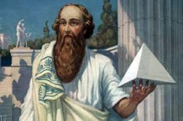 Пифагор  (586 до н. э.- 495 до н. э.)