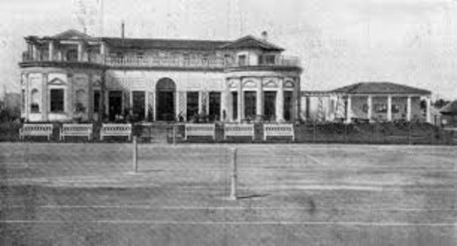 Tennis Clubhouse von Giorgio Muzio