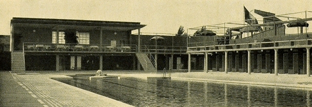 Tennis Club Freibad von Giorgio Muzio