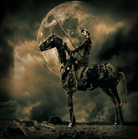 (2) Don Quijote ve solo lo que quiere ver
