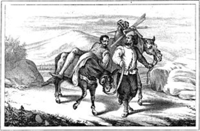 Cap. 5 La desgracia de Don Quijote