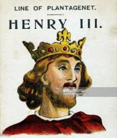 Henry III and SImon de Montfort