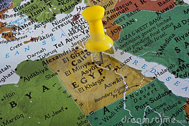 Egypte wordt één land.