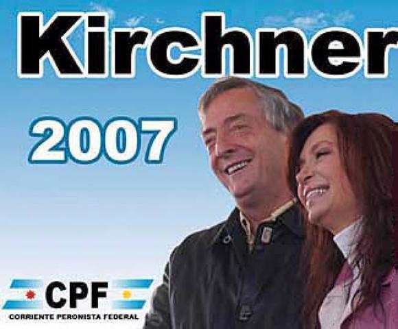 Elecciones de 2007, fin de Néstor