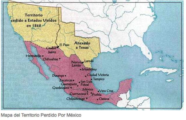 Razón principal por la cual México perdió Texas.