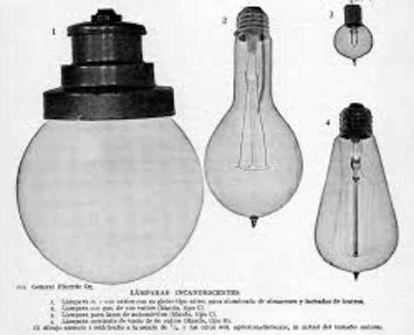 Lámpara eléctrica o de arco