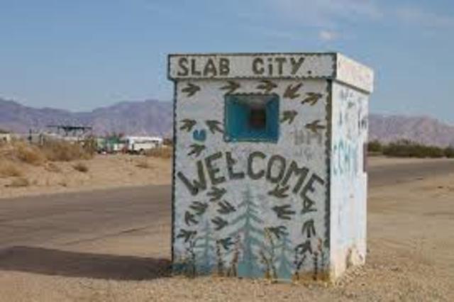The Slabs, Nevada
