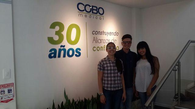 Visita Empresarial a Cobo Asociados.