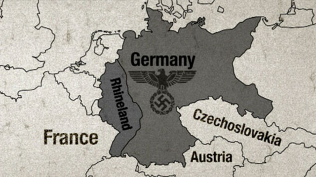 re-occupation of the Rhineland