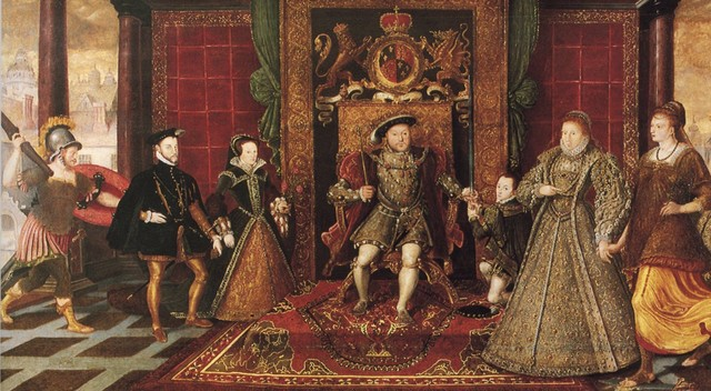 When Tudors took the throne