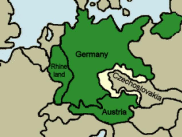 Invasion of the Sudetenland
