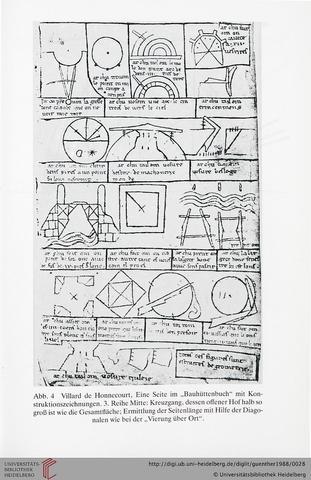 Das Bauhüttenbuch von Villard de Honnecourt