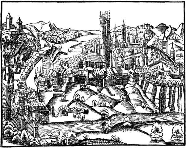 Gründung Fribourg als Zähringerstadt