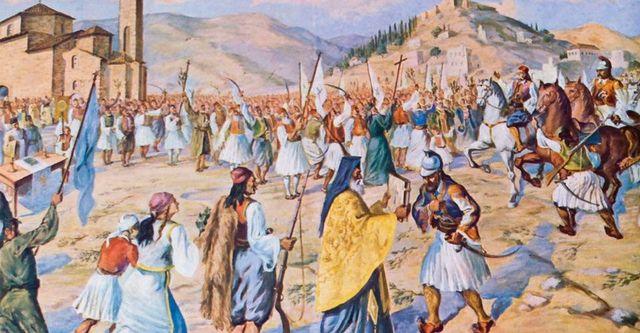 Η μάχη της Πέτρας (Βοιωτία) - Η τελευταία πολεμική συμπλοκή της επανάστασης του 21.