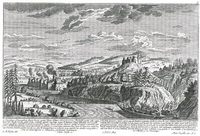 Glanzenberg, angebliche Zerstörung