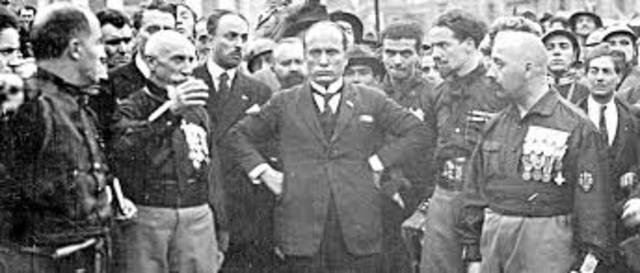 Marsch auf Rom: Mussolini an die Macht