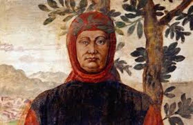 Francesco Petrarca auf dem Mont Ventoux