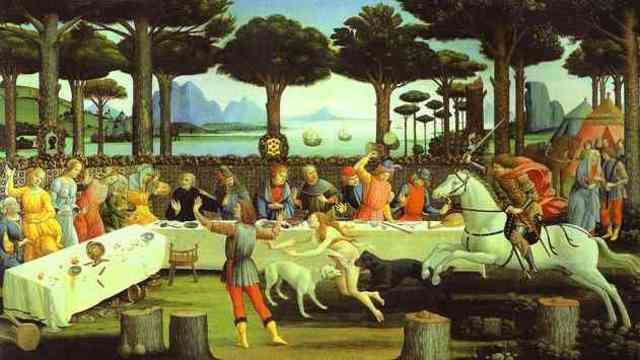 Gemälde von Botticelli
