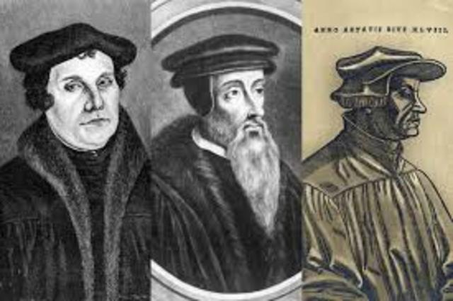 Luther - Zwingli - Calvin