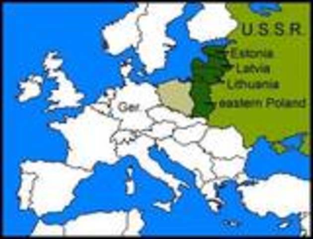 Soviet-Nazi Non Agression Pact
