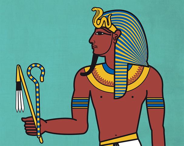 leiding van farao