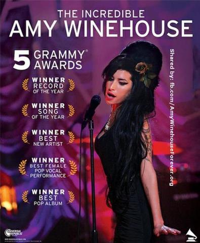 5 Premios Grammy