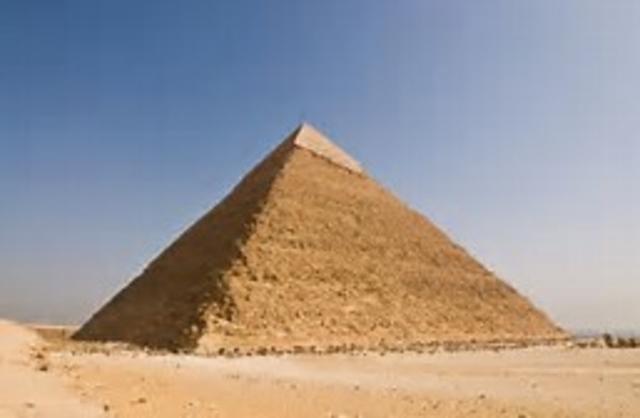 Piramides bouwen voor de farao