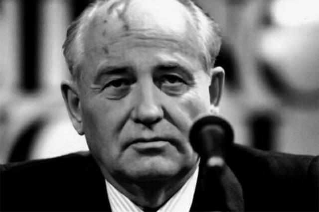 7.- Mijail Gorbachov