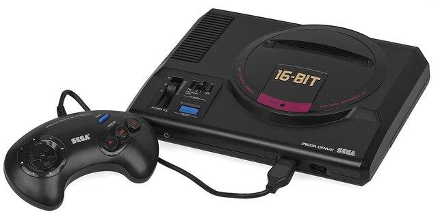 Mega Drive, de Sega