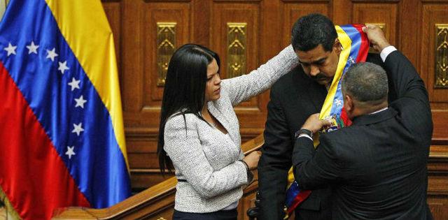 Maduro Becomes President