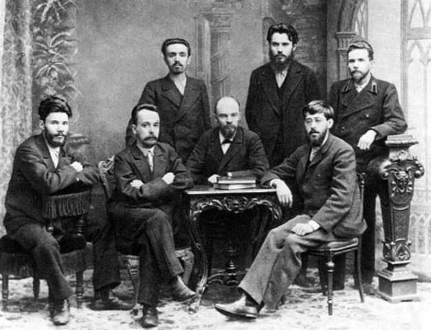 Creación de partidos comunistas