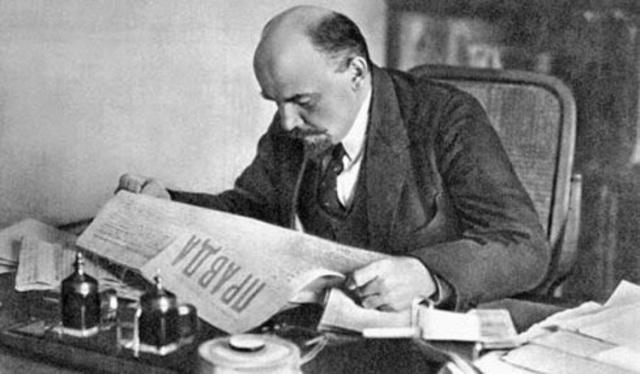 Primera publicación en Pravda