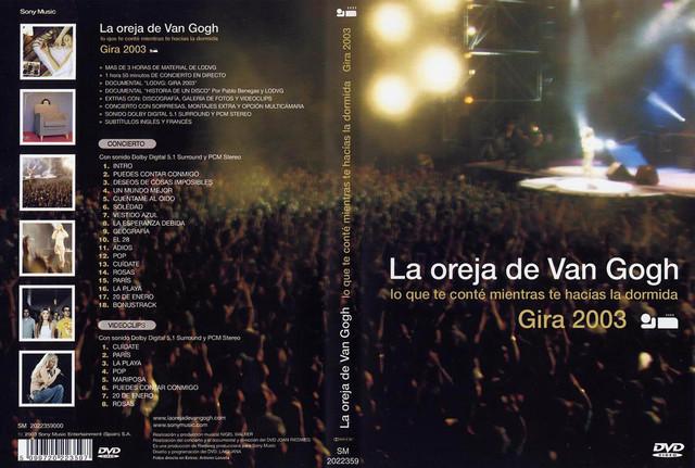 """Gira Española del disco """"Lo que te conté mientras te hacías la dormida"""""""