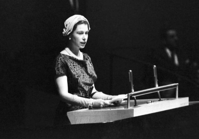 Primera visita de Estado de la reina Isabel a Estados Unidos