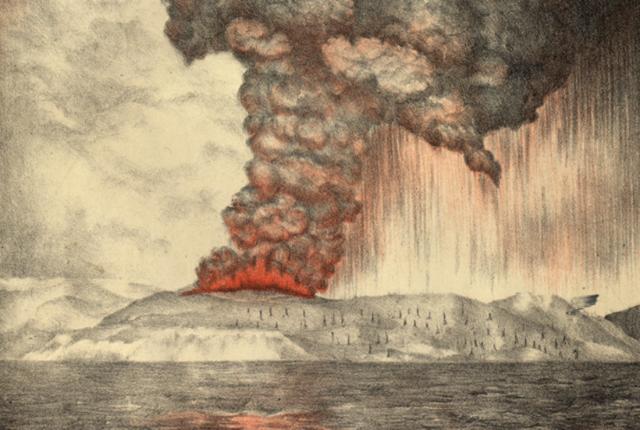Krakatoa Eruption (Java/Sumatra