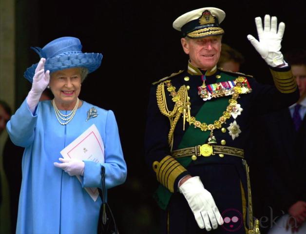 Isabel II celebra su Jubileo de oro como reina