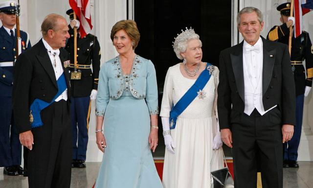 La reina y el príncipe Felipe visitan Estados Unidos