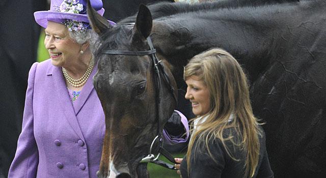 El caballo de la soberana gana la carrera de Royal Ascot