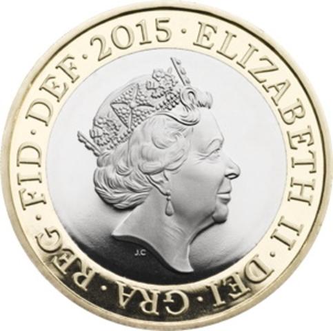 La reina tiene nueva moneda con su cara