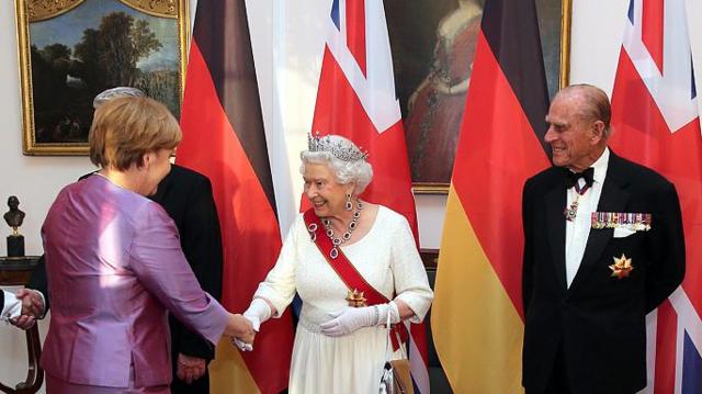 La reina hace una visita de Estado a Alemania