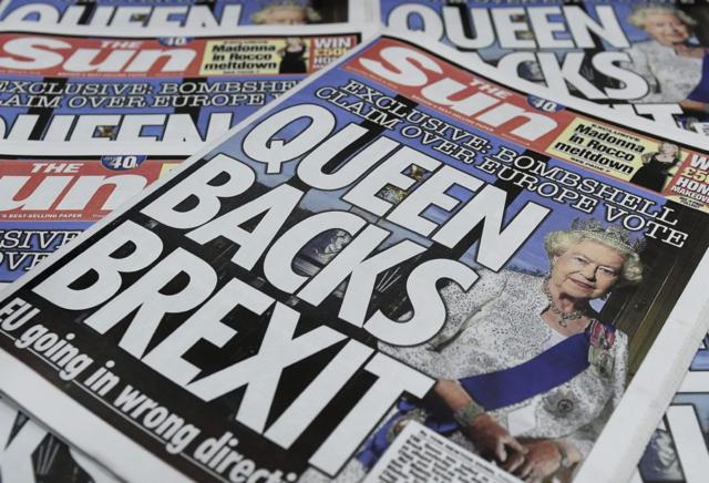 La reina se mantiene neutral ante el Brexit, pese a las dudas surgidas sobre su opinión