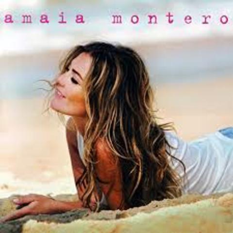 """Su primer disco en solitario """"Amaia Montero"""""""