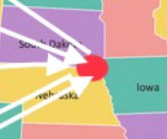 4) Carthage, South Dakota