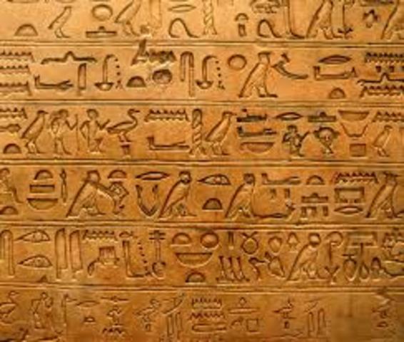 Het hiërogliefenschrift.