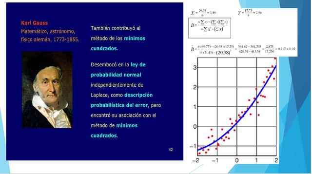 La astronomía y la ley de mínimos cuadrados